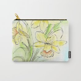 Yearning for Spring Carry-All Pouch
