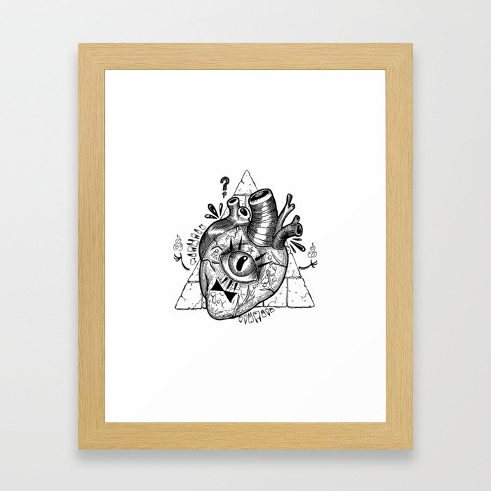 Cypher Framed Art Print