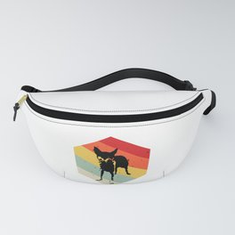 Norwegian Lundehund print For Dog Lovers Cute Dog Fanny Pack