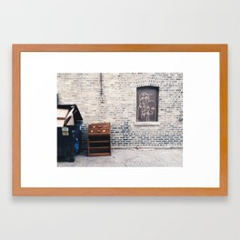 Fours a Crowd Framed Art Print