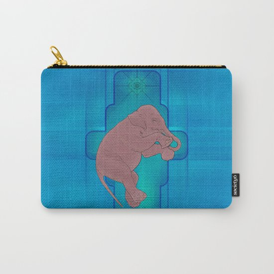 Astral Elephant Carry-All Pouch