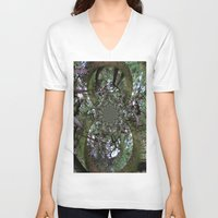 fairytale V-neck T-shirts featuring fairytale 2 by anru