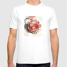 Vintage gadget series: View-Master Model G MEDIUM White Mens Fitted Tee