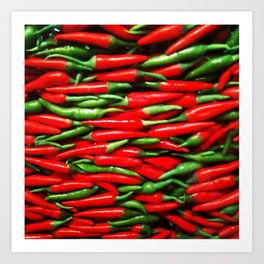Red Hot Chillie Peppers Art Print