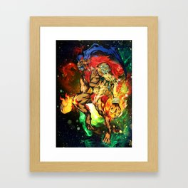 Ifrit Framed Art Print