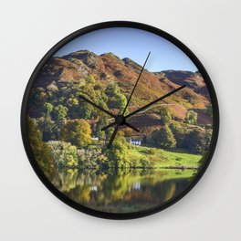 Loughrigg Tarn. Wall Clock