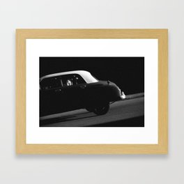 a car portrait Framed Art Print