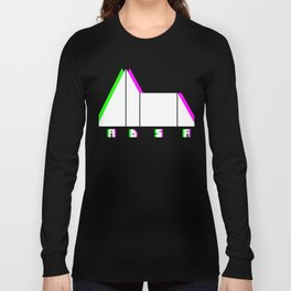 Glitch Synthesizer ADSR Envelope Long Sleeve T-shirt