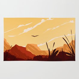 West Texas Landscape Rug