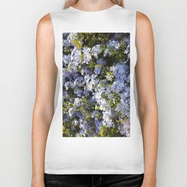 a violet flower in the heart of Athens Biker Tank