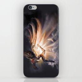 Raven, The Inuit Trickster God iPhone Skin
