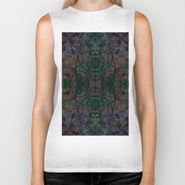 Emerald tree geometry VIII Biker Tank