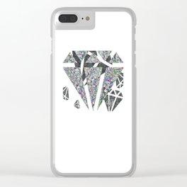 Dead diamonds Clear iPhone Case