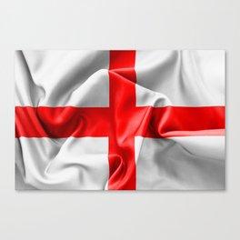 English St Georges Cross Flag Canvas Print