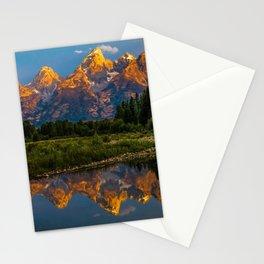 Grand Tetons Lake Reflections - Wyoming Stationery Cards