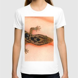 Watercolor People in Nature, AaP, Adult 14, and Lizard, St John, USVI T-shirt