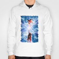 wreck it ralph Hoodies featuring THOR vs RALPH by Raisya