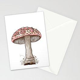 Amanita Muscaria Mushroom Art Stationery Cards
