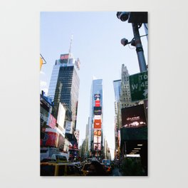 Time Squared Canvas Print
