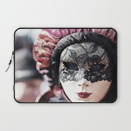 Italy Venice Mask 4 woman Laptop Sleeve