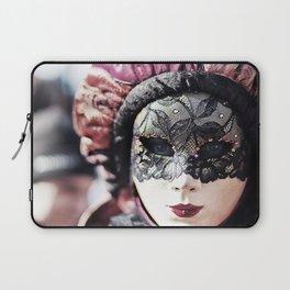 Italy Venice Mask 4 woman Laptop Sleeve