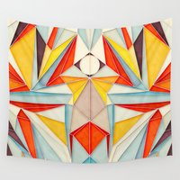 body Wall Tapestries featuring Everything is Fine by Anai Greog