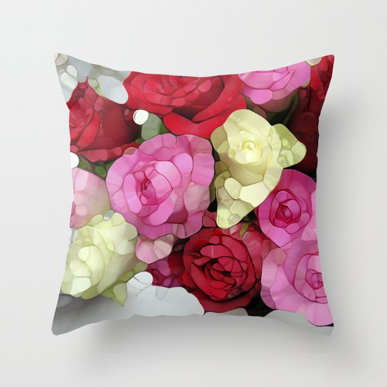 Let Your Love Shine! Throw Pillow