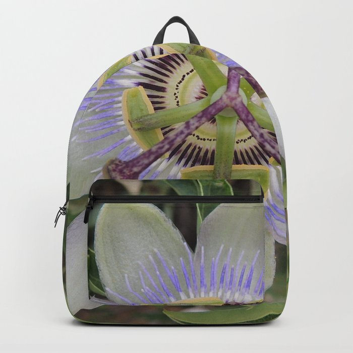 Passion Flower Blossom Backpack