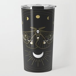 The Moon Moth Travel Mug