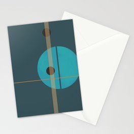 Geometric Abstract Art #4 Stationery Cards