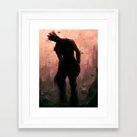 groot Framed Art Prints featuring Groot by Varsha Vijayan