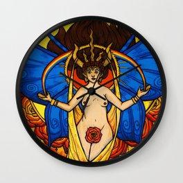 Mother Goddess Wall Clock