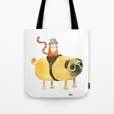 Commander Creamsicle Tote Bag