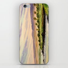 Mauna Kea Golf Course Hawaii Hole 3 iPhone Skin