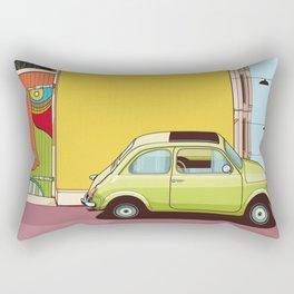 Fiat 600 Rectangular Pillow