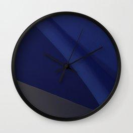 Barcelona Blue Wall Clock