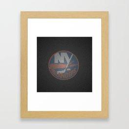 NewYorkIslanders Logo Framed Art Print