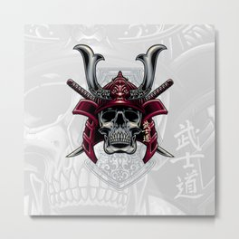 Bushido Metal Print