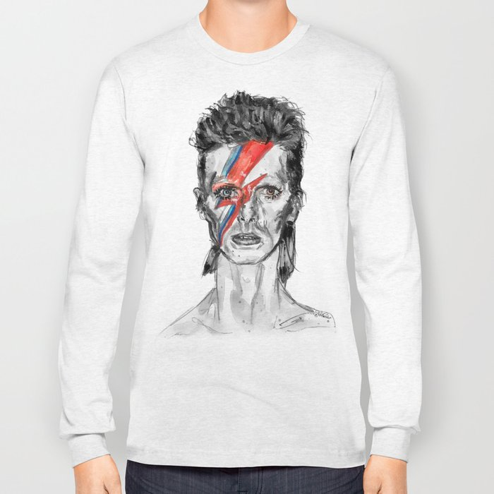Heroes Inspired in BW Long Sleeve T-shirt