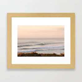 Sunrise Wall Of Water Framed Art Print