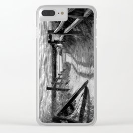 Beach Path Clear iPhone Case