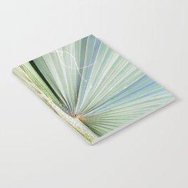 Fanned Palms Notebook