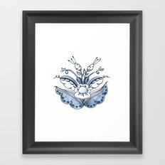 Scandi Kurbits 2 Framed Art Print