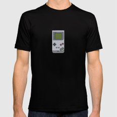 #44 Nintendo Gameboy Black MEDIUM Mens Fitted Tee