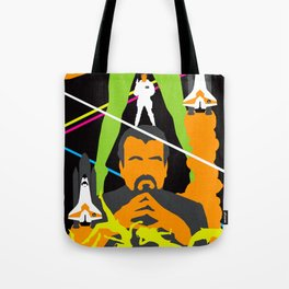 James Bond Golden Era Series :: Moonraker Tote Bag
