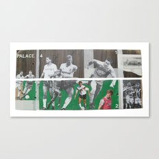 A Game Of 2 Halves Canvas Print
