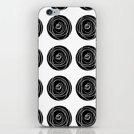 Swirly Dot Pattern iPhone & iPod Skin