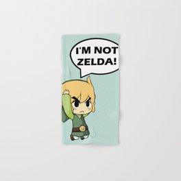I'm not Zelda! (link from legend of zelda) Hand & Bath Towel