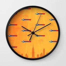 Ikon II [orange] Wall Clock