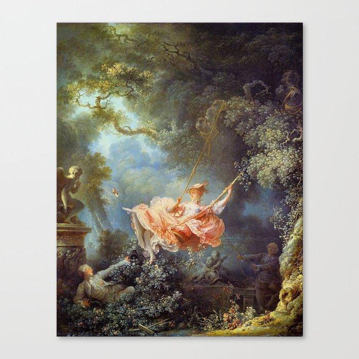 Jean-Honoré Fragonard - The Swing Leinwanddruck